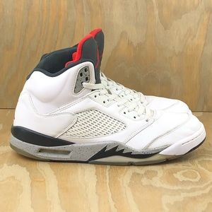 Nike Air Jordan 5 V Retro 'White Cement'